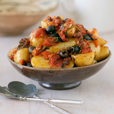 Sicilian Roasted Potatoes